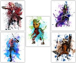 Guardians of the Galaxy - Avengers Baby Groot, Gamora, Star