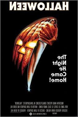 HSE HALLOWEEN the night he came home VINTAGE MOVIE POSTER ho