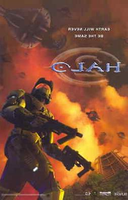 HALO 2 11x17 Movie Poster - Licensed | New | USA |