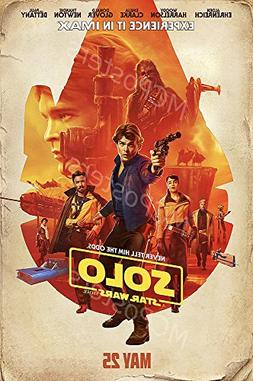 MCPosters Han Solo A Star War Story GLOSSY FINISH Movie Post