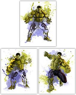 Hulk Wall Decor Collection - The Incredible Avenger in this