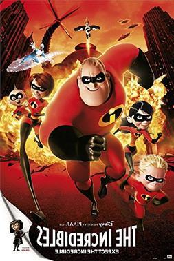 The Incredibles - Disney / Pixar Movie Poster / Print