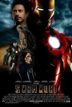 Iron Man 2 Movie Poster Print Wall Art 8x10 11x17 16x20 22x2