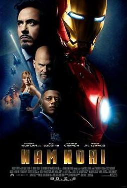 Iron Man Movie Poster Print Wall Art 8x10 11x17 16x20 22x28