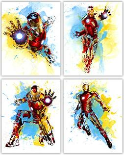 Iron Man Wall Decor Collection - The Great Marvel Avenger in