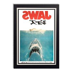 Jaws Steven Spielberg Japanese Movie Poster Reproduction Pos