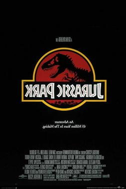 JURASSIC PARK - CLASSIC MOVIE POSTER 24x36 - 4842
