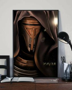 Knights of The Old Republic - Revan Portrait Poster Movies G