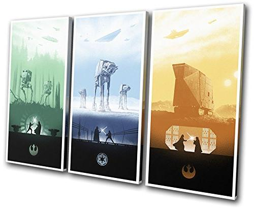 Bold Bloc Design - Star Wars Trilogy Posters Movie Greats 60