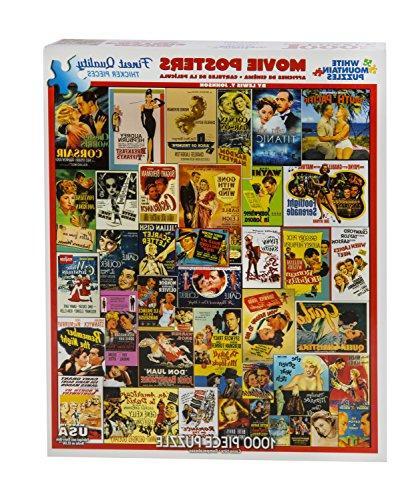 White Mountain Puzzles - Classic Movie 1,000 Piece