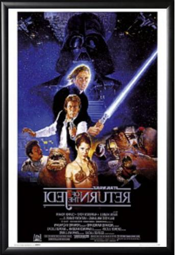 framed return jedi star wars