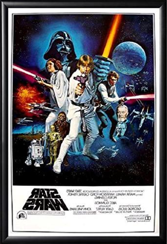 Star Wars Movie Poster Framed