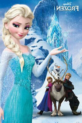 frozen disney movie poster print mountain size