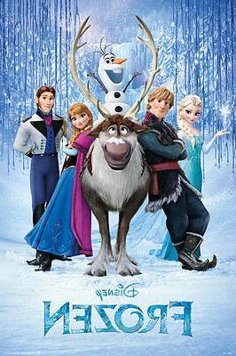 frozen movie poster usa version size 24x36