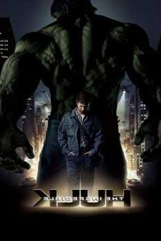 THE INCREDIBLE HULK MOVIE POSTER Amazing Collage 24x36