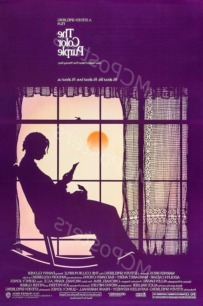 posters usa the color purple movie poster