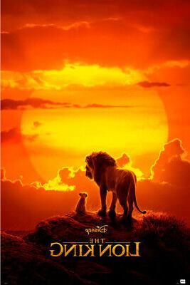 the lion king disney movie poster teaser