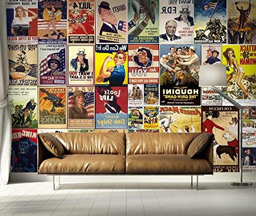 wall26 - Peel and Stick Wallpapaer Movie Large