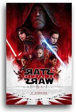 The Last Jedi Poster - 11 x 17 inches - Star Wars 8 Movie Pr