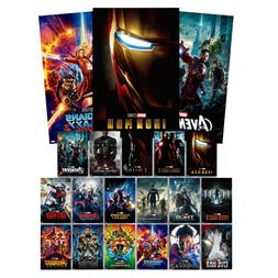 Marvel Movie Poster Collection The 10th Anniversary Limited