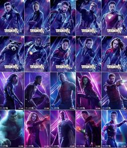 Marvel Avengers Endgame Infinity War Hero Poster Collection