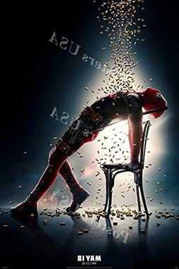 Posters USA Marvel Deadpool 2 Movie Poster GLOSSY FINISH - F