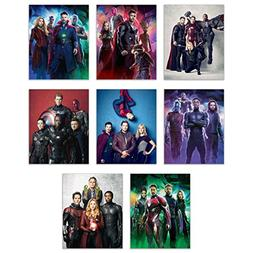 Marvels Avengers Infinity War Poster Wall Decor - 2018 Movie