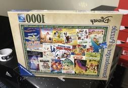NEW! Disney Vintage Movie Posters Ravensburger 1000pc Jigsaw
