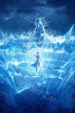 Posters USA - Disney Pixar Frozen 2 Textless Movie Poster Gl