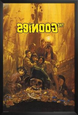 Professionally Framed Goonies Movie Group Poster Print 80s -