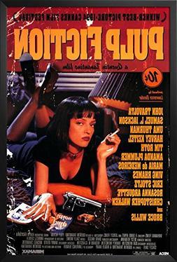 Professionally Framed Pulp Fiction Movie Uma Thurman Retro A