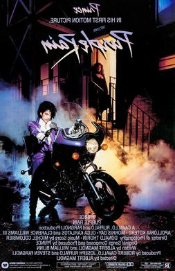 Purple Rain movie poster - Prince poster - 11 X 17 inches