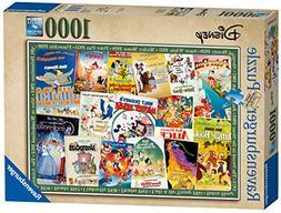 Ravensburger Disney Vintage Movie Posters 1000pc piece Jigsa