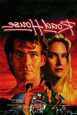 ROAD HOUSE 1989 WALL POSTER MOVIE FILM PRINT ART SIZE 24X18