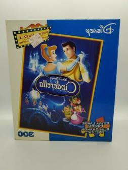 Disney's Cinderella 300 Pc Movie Poster Jigsaw Puzzle - XL P
