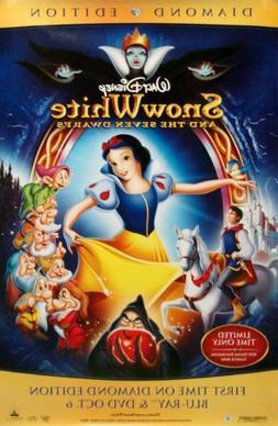 "Snow White Movie Poster Dimond Edition Movie Poster 26"" X 40"