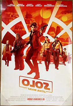 SOLO A STAR WARS STORY MOVIE POSTER 2 Sided ORIGINAL INTL FI