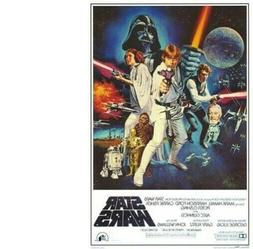STAR WARS - A NEW HOPE MOVIE POSTER - 24x36 CLASSIC VINTAGE
