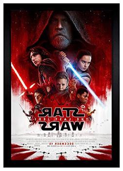 Star Wars The Last Jedi 24x36 Framed Movie Poster