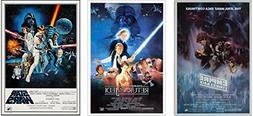 Star Wars Original Trilogy Classics Posters, 3 Full Size Pos