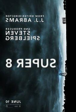 Super 8 Movie Poster 24x36in