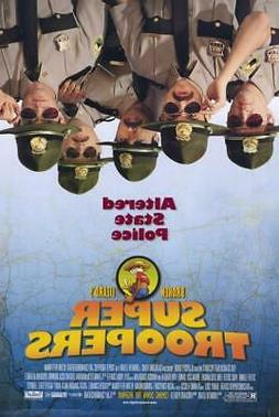 Super Troopers 11x17 Movie Poster