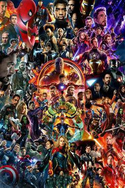 The Avengers Endgame Poster Movie Hot All Character Marvel 3