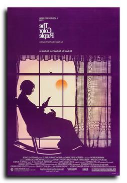 The Color Purple Movie Poster 24x36 Inch Wall Art Portrait P