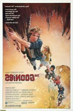 The Goonies Movie Poster Print Wall Art Photo 8x10 11x17 16x