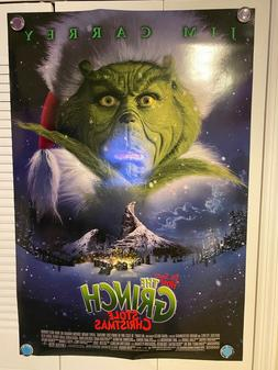 THE GRINCH MOVIE POSTER 2 Sided ORIGINAL Advance Version B 2