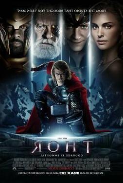 Thor Movie Poster Photo Print Wall Art 8x10 11x17 16x20 22x2