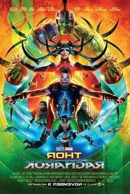 THOR - RAGNAROK - ONE SHEET MOVIE POSTER 24x36 - MARVEL COMI