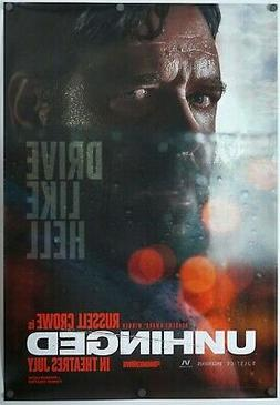 Unhinged - original movie poster 27x39 - INTL Adv - Russell