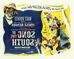"""Vintage Disney """"Song of the South"""" Movie Poster - Available"""